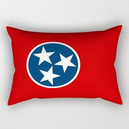 Flag of Tennessee Rectangular Pillow