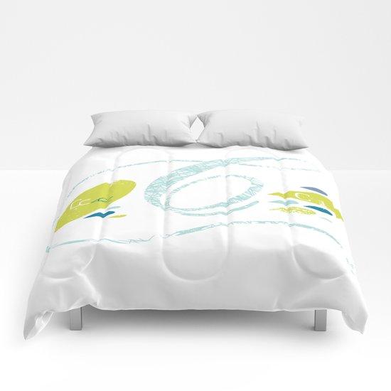 C-curl Comforters