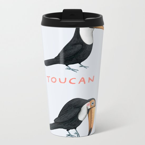 Toucan Toucan't Metal Travel Mug