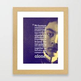 Most Inspiring Kahlil Gibran Quotes - 14 Framed Art Print