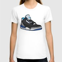 sport T-shirts featuring Jordan 3 (Sport Blue) by Pancho the Macho