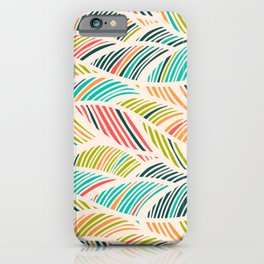 Beautiful Bohemian Boho Chic Multicolor Feather Pattern iPhone Case