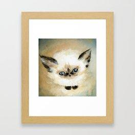 Little Fluff Framed Art Print