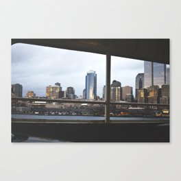 seattle by sea. Canvas Print