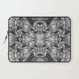Silvery Cat's Eye Gemstones Laptop Sleeve