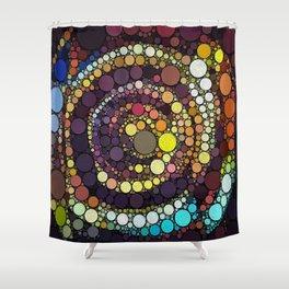 :: Crop Circle Circus :: Shower Curtain