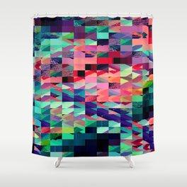 Pixel Dust  Shower Curtain