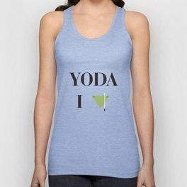 I heart Yoda Unisex Tank Top