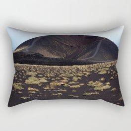 Mount Etna Sicily Rectangular Pillow