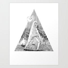 The Fresno Nightcrawler Art Print