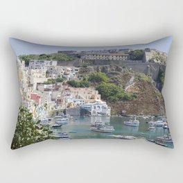 Procida Island, Italy Rectangular Pillow