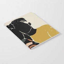 Black Hair No. 10 Notebook