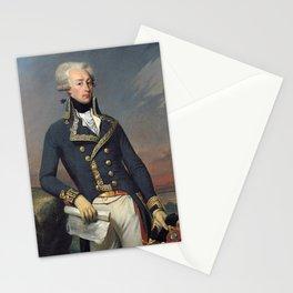 Portrait of Lafayette by Joseph désiré Court Stationery Cards
