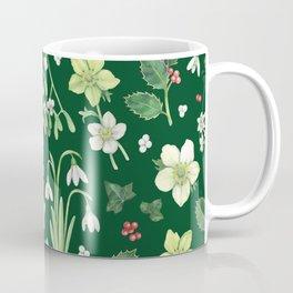 Winter Garden - dark green  Coffee Mug