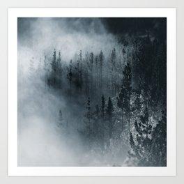 Dark woods 1 Art Print