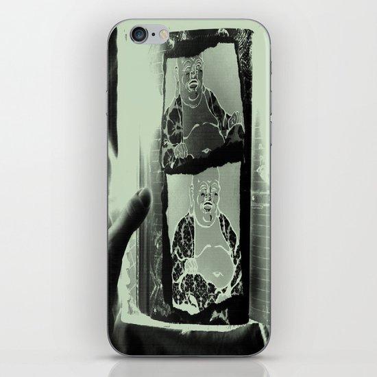 Tickling Buddha iPhone & iPod Skin