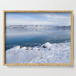 Bear Lake Beauty Serving Tray