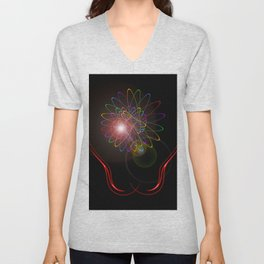 Light and energy Unisex V-Neck