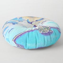schooner Floor Pillow