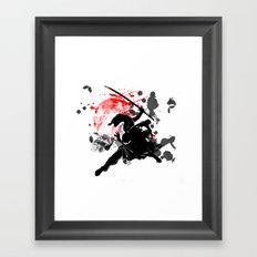 Japan Ninja Framed Art Print