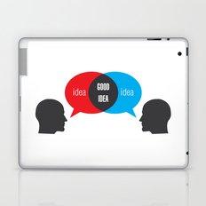 Idea+Idea=Good Idea Laptop & iPad Skin