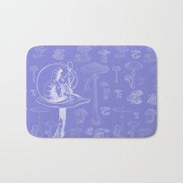 Carterpillar and Mushrooms Bath Mat