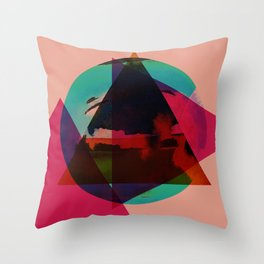 Aligning Throw Pillow