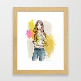 Brooke Framed Art Print