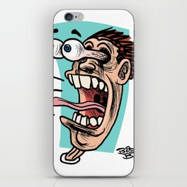 Double Take Right iPhone Skin