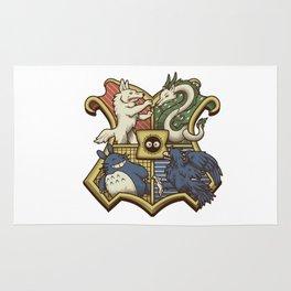 Ghibliwarts Crest Rug