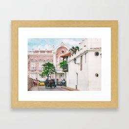 Street Scene, Cartagena Fine Art Print  • Travel Photography • Wall Art Framed Art Print