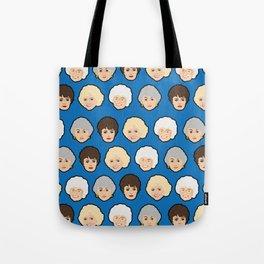 The Golden Girls Blue Pop Art Tote Bag