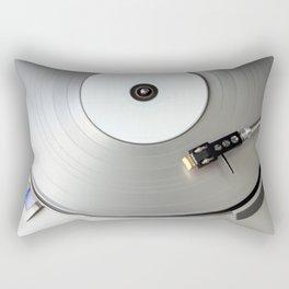 Silver Ice Rectangular Pillow
