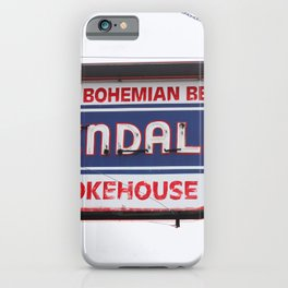 Kendall's Smokehouse Vintage Sign iPhone Case