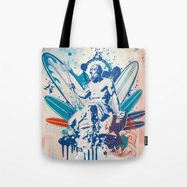 Poseidon surfer  Tote Bag