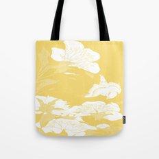 japanese flowers. Marigold Yellow Tote Bag