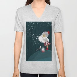 Magical forest Unisex V-Neck