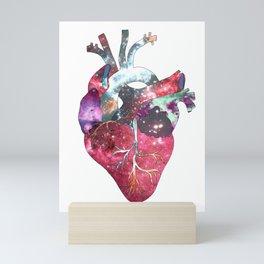 Superstar Heart (on white) Mini Art Print
