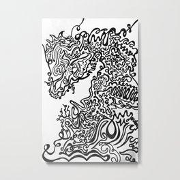 High School Metal Print