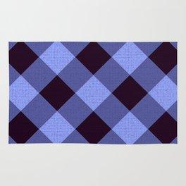 Purple & Blue Latice Design Rug