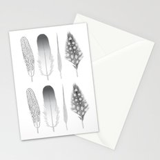 Feathers Trio Stationery Cards
