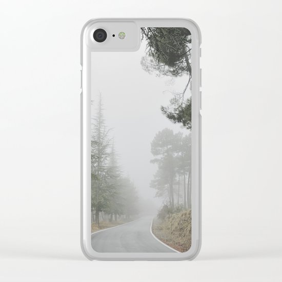 """""""Into the woods"""" Come in..... Clear iPhone Case"""