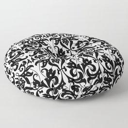 PARSLEY SWIRLS Floor Pillow