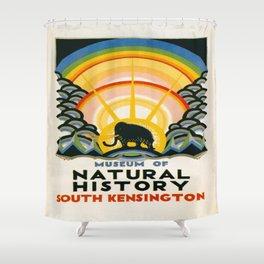Vintage poster - South Kensington Shower Curtain