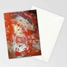 Red Wood Stationery Cards