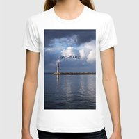 breathe T-shirts featuring breathe by gzm_guvenc