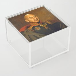 Sir Patrick Stewart - replaceface Acrylic Box
