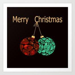 Christmas gift. Art Print