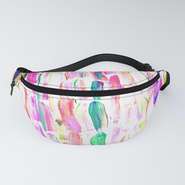 Spring Colorful Sugarcane Fanny Pack