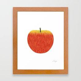 Honeycrisp Framed Art Print